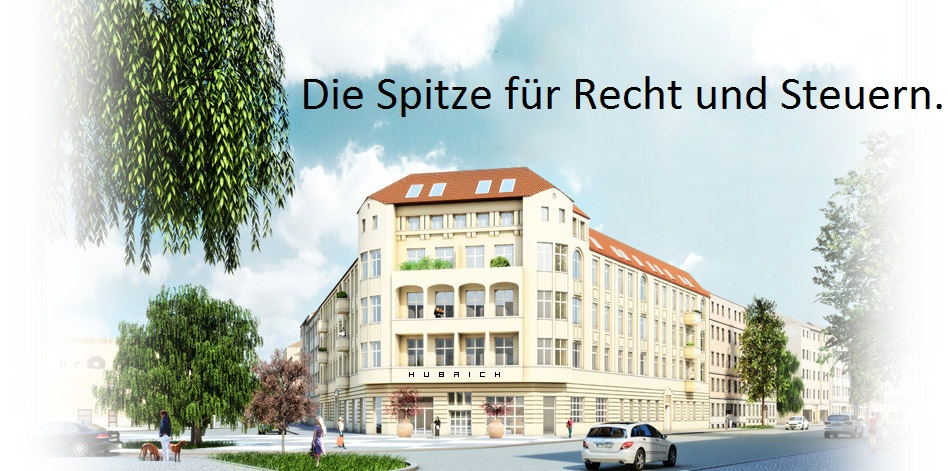 HUBRICH - Die Spitze fuer Recht und Steuern in Berlin.
